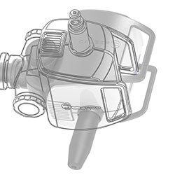 CAD drawing of RS-G4